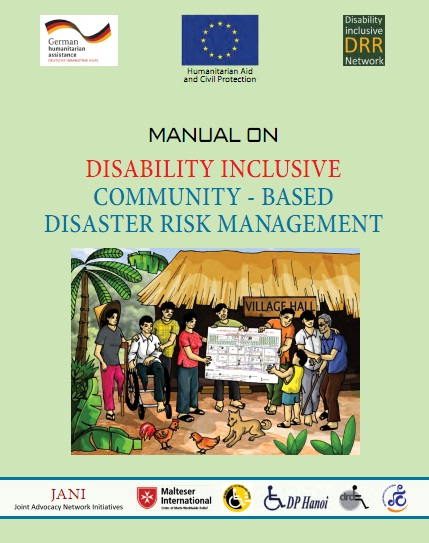 Manual on Disability Inclusive Community - Based Disaster Risk Management